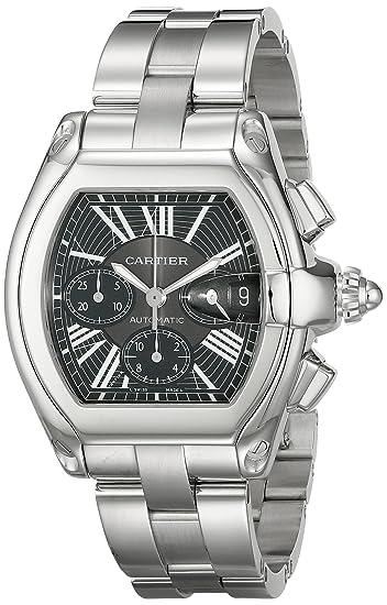 Cartier W62020X6 - Reloj de pulsera hombre, acero inoxidable