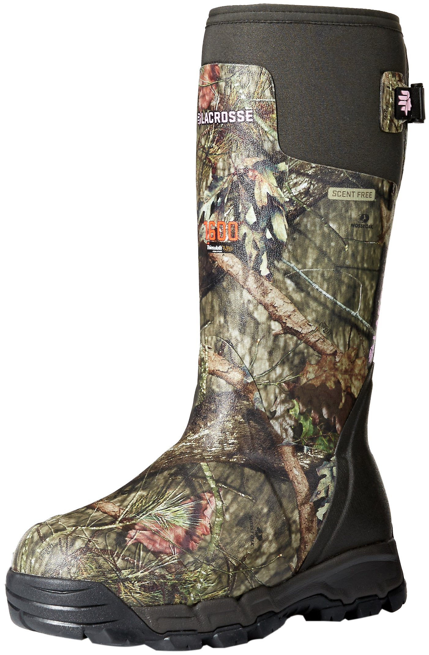 LaCrosse Women's Alphaburly Pro 1600G Hunting Shoes, Mossy Oak Break up Country, 8 M US
