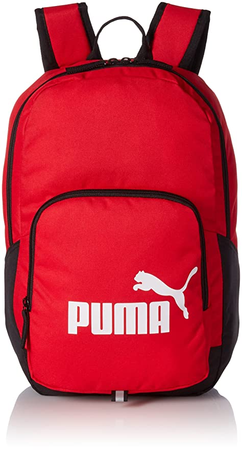 bbcad583d7 Puma 21 Ltrs red Laptop Backpack (7358924)  Amazon.in  Bags