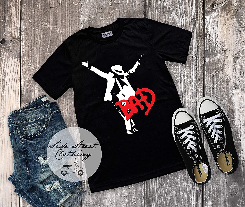 Michael Jackson inspired T shirt - baby, toddler, youth, women, men, pop, rock, music festival, rock concert, music fan