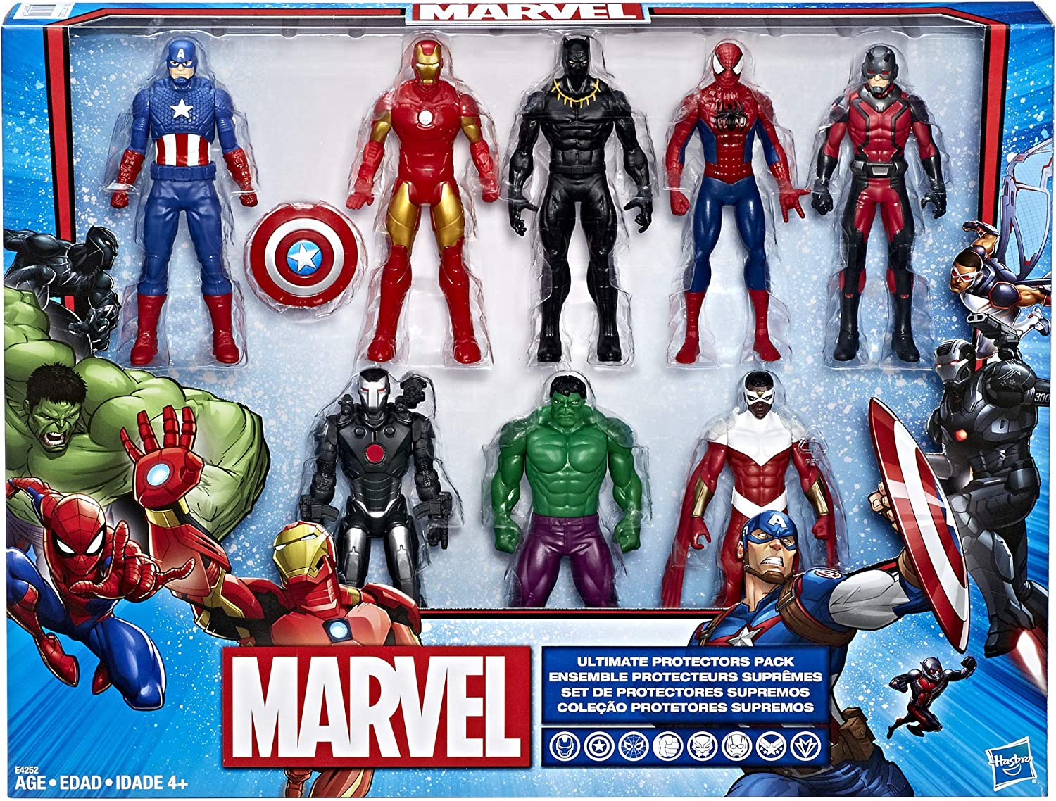 Hasbro Marvel Ultimate Protectors Action Figure 8-Pack: Amazon.es: Juguetes y juegos