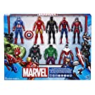 Marvel Avengers Action Figures - Iron Man, Hulk, Black Panther, Captain America, Spider Man, Ant Man, War Machine & Falcon! (8 Action Figures)