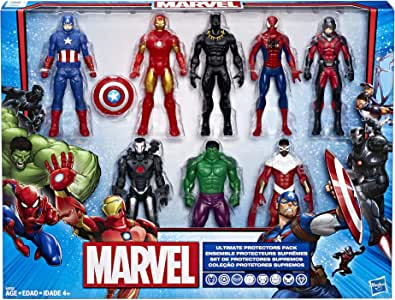 Hasbro Marvel Ultimate Protectors Action Figure 8-Pack: Amazon.es ...