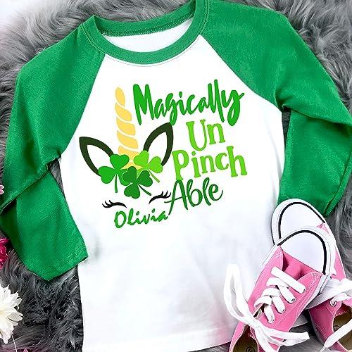 Personalized Girls St St Patrick\u2019s Rainbow Truck Shirt Girls St Patrick\u2019s Day Shirt Patrick\u2019s Tee
