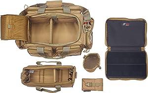 SXIII S13 Tactical Pistol Range Bag 1000D Ballistic Denier