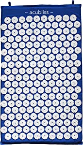 Acubliss Acupressure Mat for Pain & Relaxation (Blue)