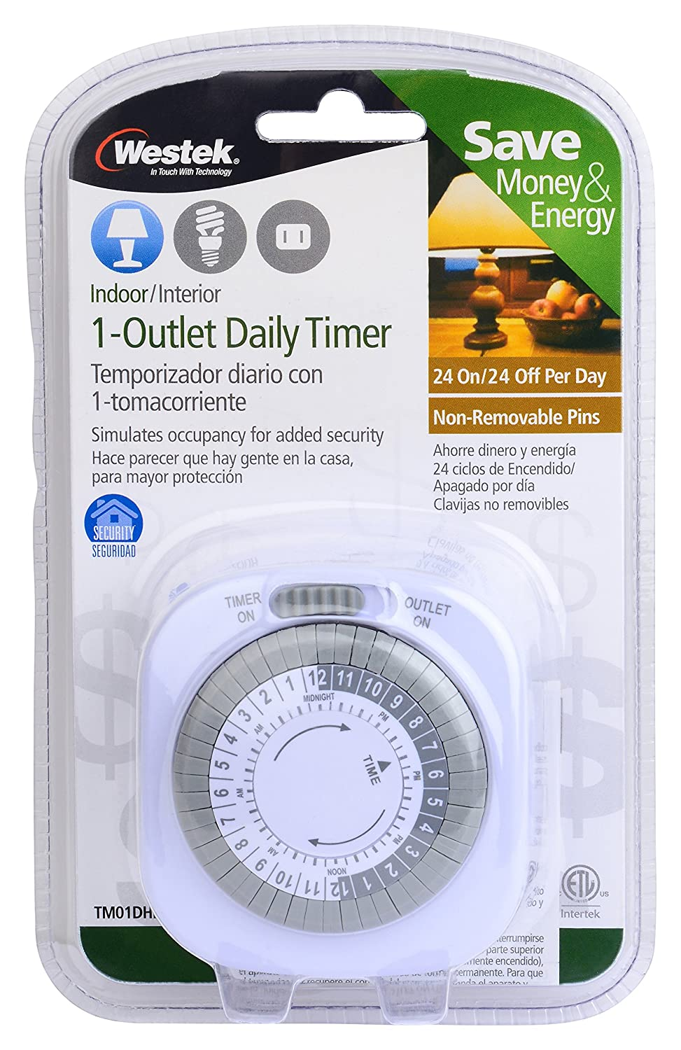Westek tm01dhb daily timer white plug in timer switches amazon publicscrutiny Image collections