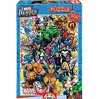 Educa - Héroes Marvel Puzzle, 500 Piezas, Multicolor (15560)