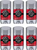Old Spice Red Zone Collection Invisible Solid Swagger Scent Men's Antiperspirant & Deodorant, 2.6 Oz (Pack of 6)