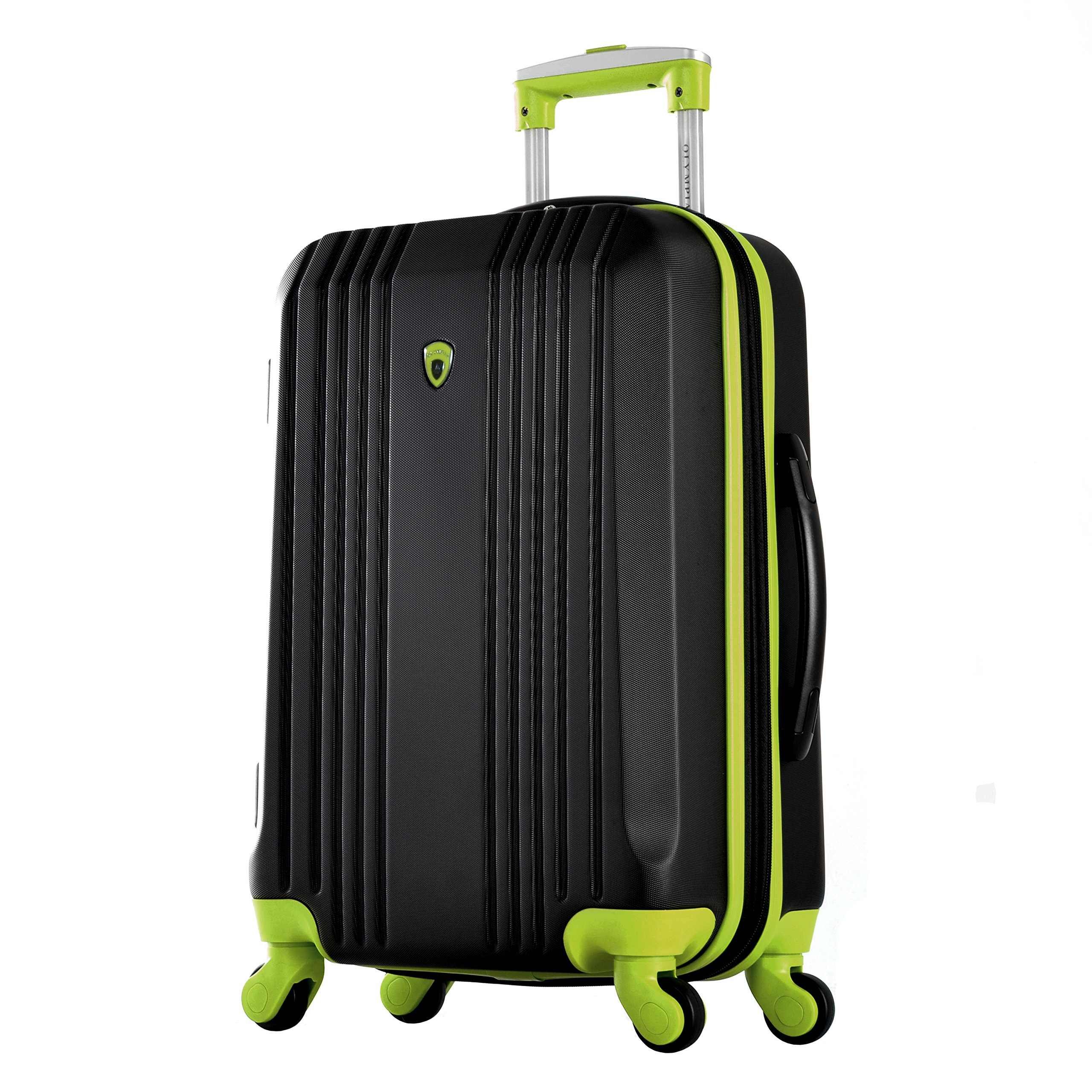 Olympia Apache Ii 21'' Carry-on Spinner, Black+Lime