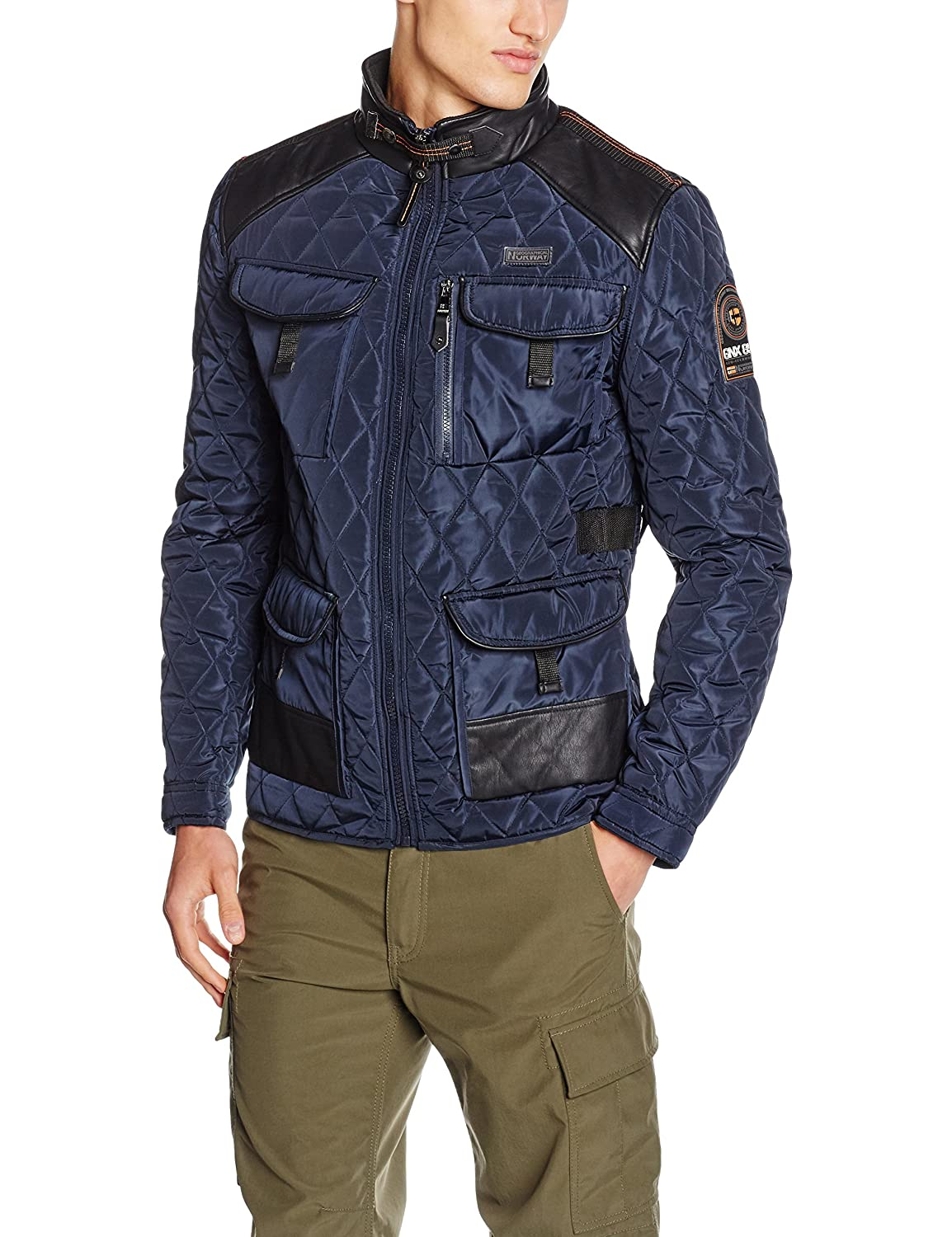 TALLA M. Geographical Norway Ambassador Men Parka para Hombre