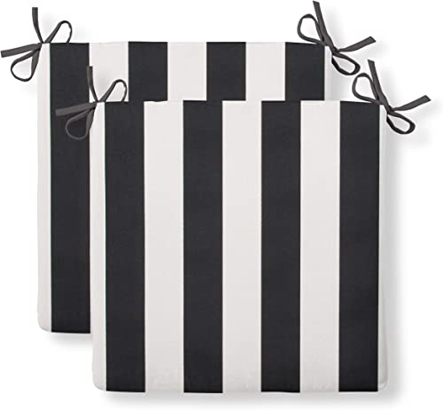 Grouchy Goose Tuxedo Stripe Outdoor Cushion
