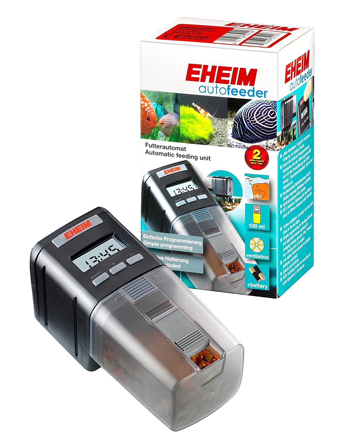 Eheim Feed-Air Fish Feeder Everyday Unit