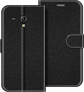 COODIO Funda Samsung Galaxy S3 Mini con Tapa, Funda Movil Samsung S3 Mini, Funda Libro Galaxy S3 Mini Carcasa Magnético Funda para Samsung Galaxy S3 Mini, Negro: Amazon.es: Electrónica