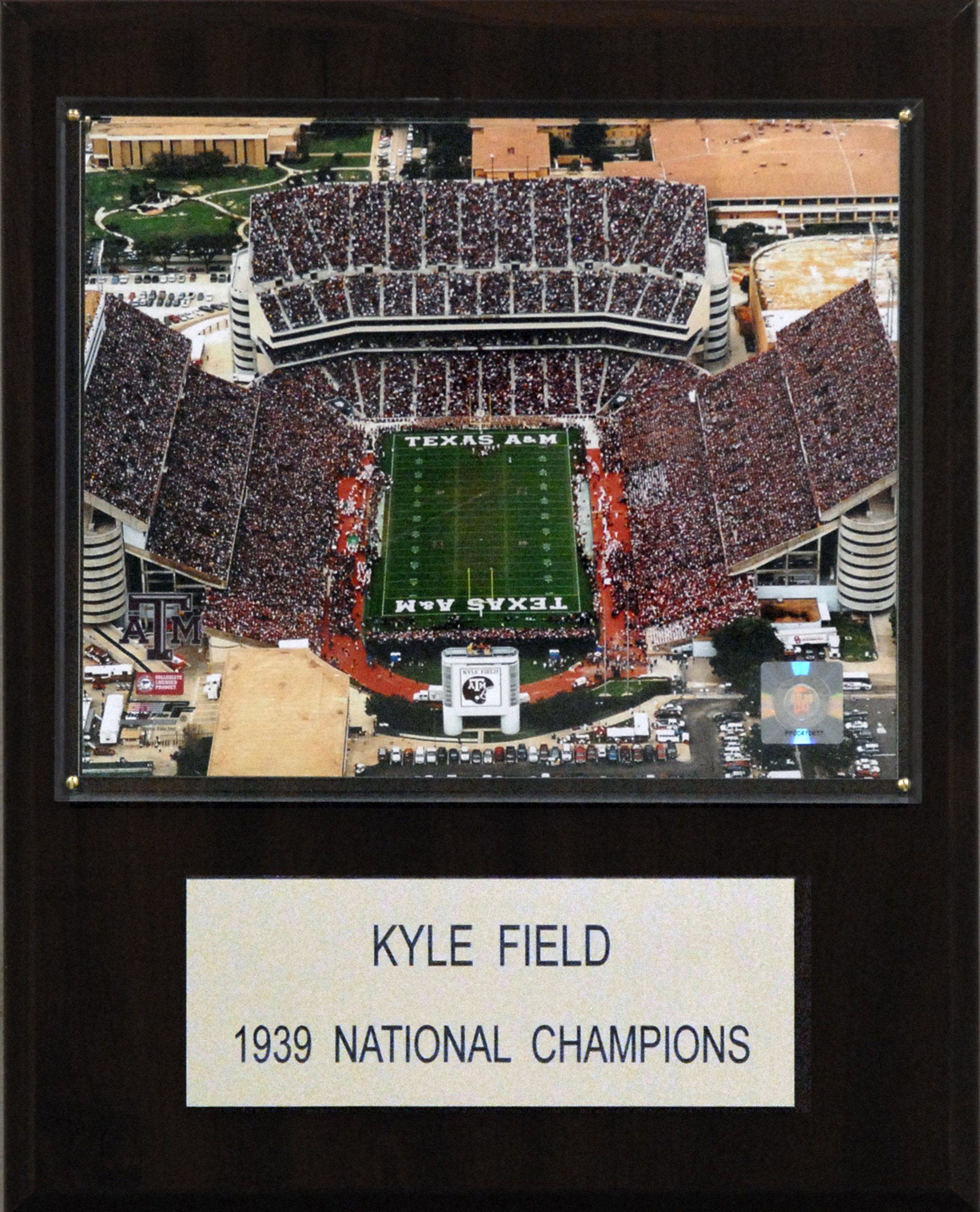 NCAA Football Kyle Field Stadium Plaque