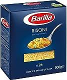 Barilla - Risoni n.26, Pasta di Semola di Grano Duro - 8 confezioni da 500 g [4 kg]