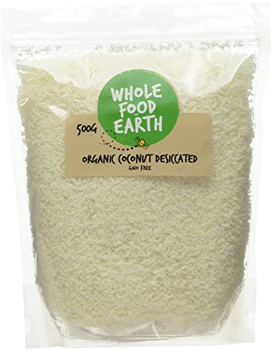 Wholefood Earth Organic Raw Dessicated Coconut 500 g