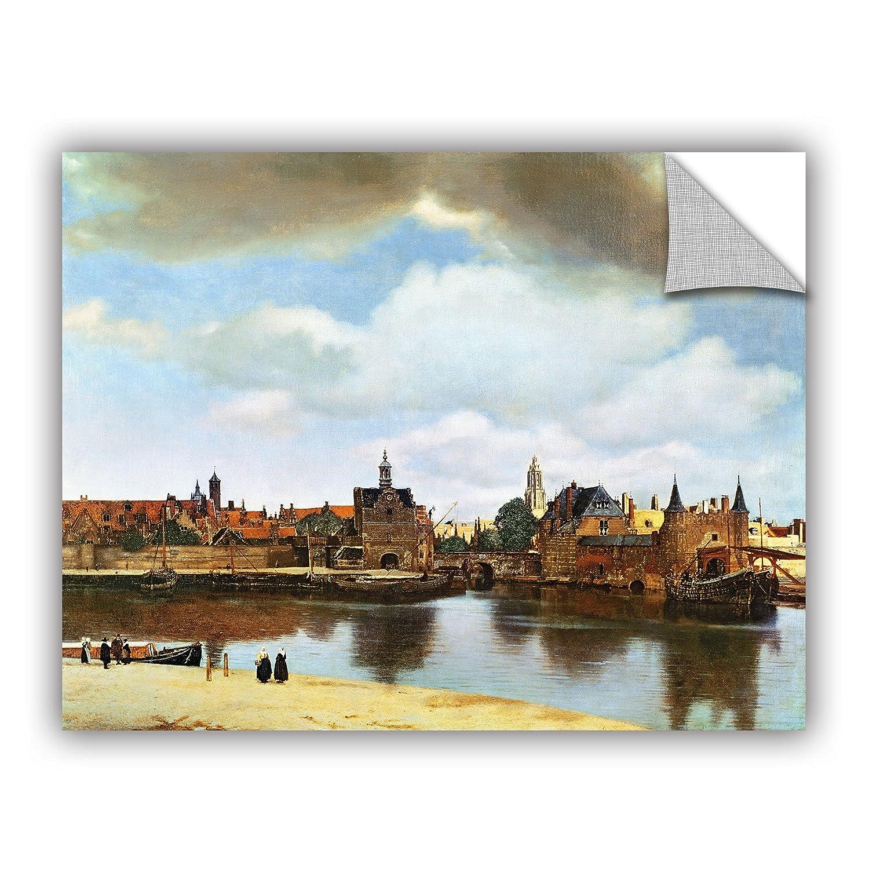 ArtWall Jan Vermeers View of Delft III Art Appeelz Removable Wall Art Graphic 24 x 32
