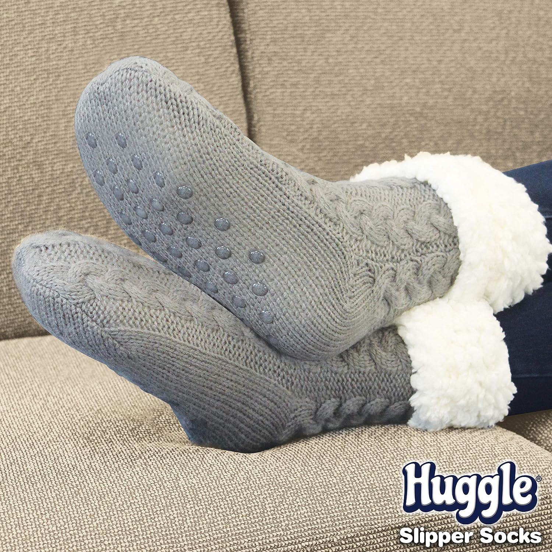 non-slip slipper socks Ultra-plush Huggle Slipper Socks