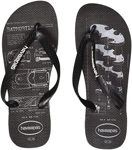 25a9be8bfaf948 Havaianas Men s s Batman Flip Flops  Amazon.co.uk  Shoes   Bags