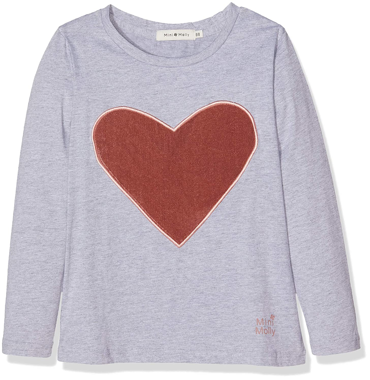 designer fashion 0ef52 96306 MOLLY BRACKEN Knitted Tee, T-Shirt Bambina, Gris Grey, 12 ...