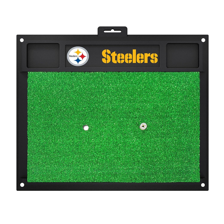 NFL Pittsburgh Steelers Golf Hitting Matゴルフ練習アクセサリー   B07F1XPL4Q