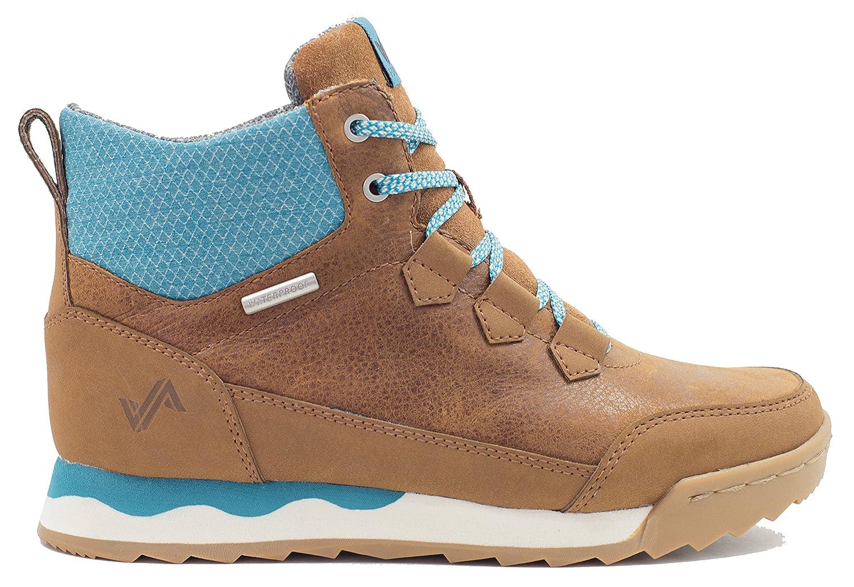Forsake Loop – Womens Waterproof Leather Hiking Shoe B01KW326YC 8.5 M US|Tan/Ocean