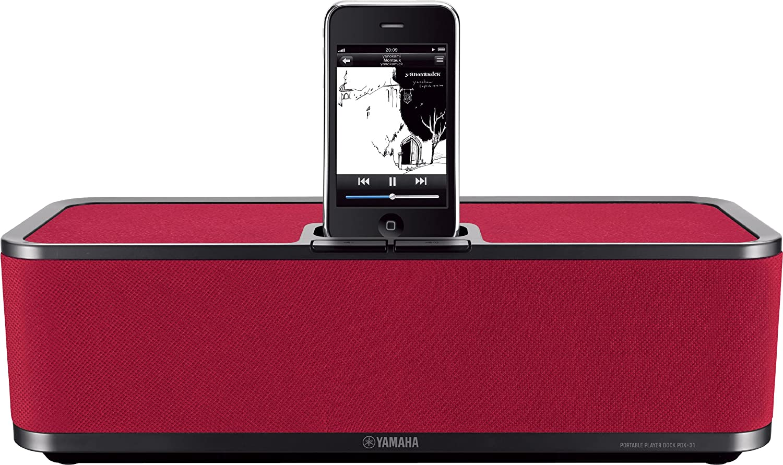 ヤマハ PDXシリーズ ポータブルプレーヤードック iPhone/iPod対応 ダークレッド PDX-31(RD) B004S932FO ダークレッド