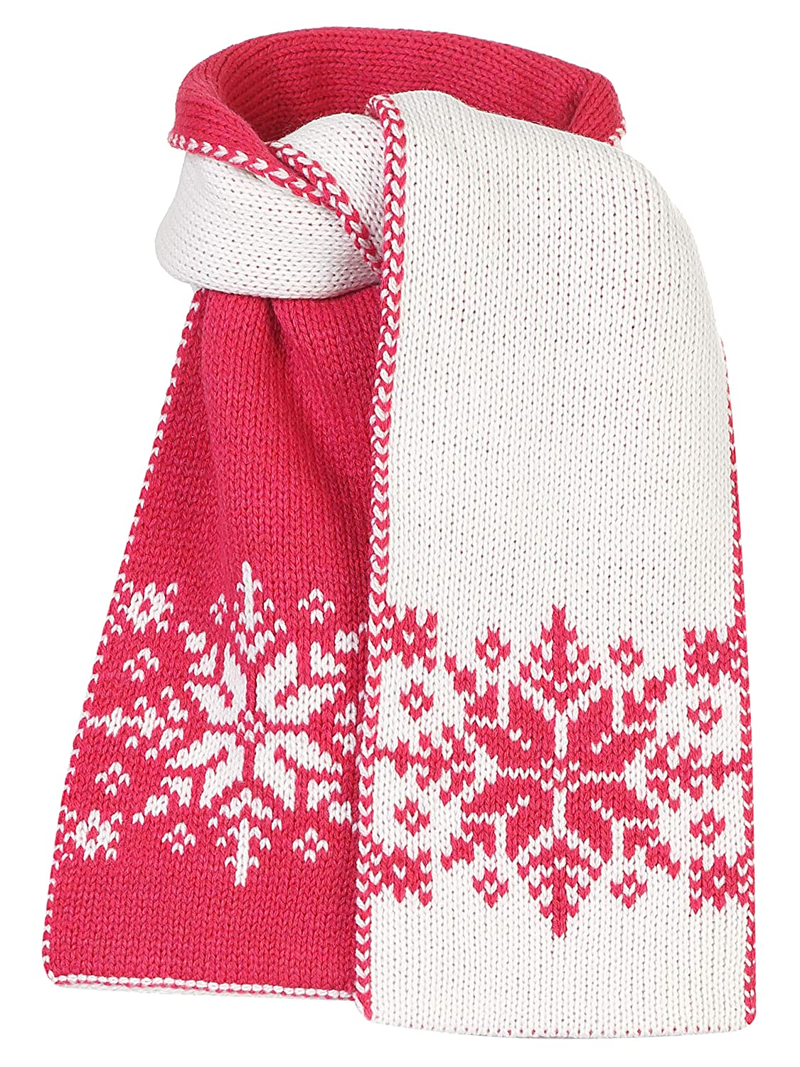 Scandica Girls Wool Scarf Winter Knitted Scarf