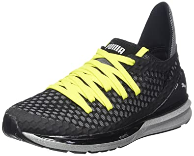 58bbb75668 Puma Ignite Limitless Netfit Nc Chaussures Multisport Outdoor Homme, Noir  (Black-NRGY Yellow