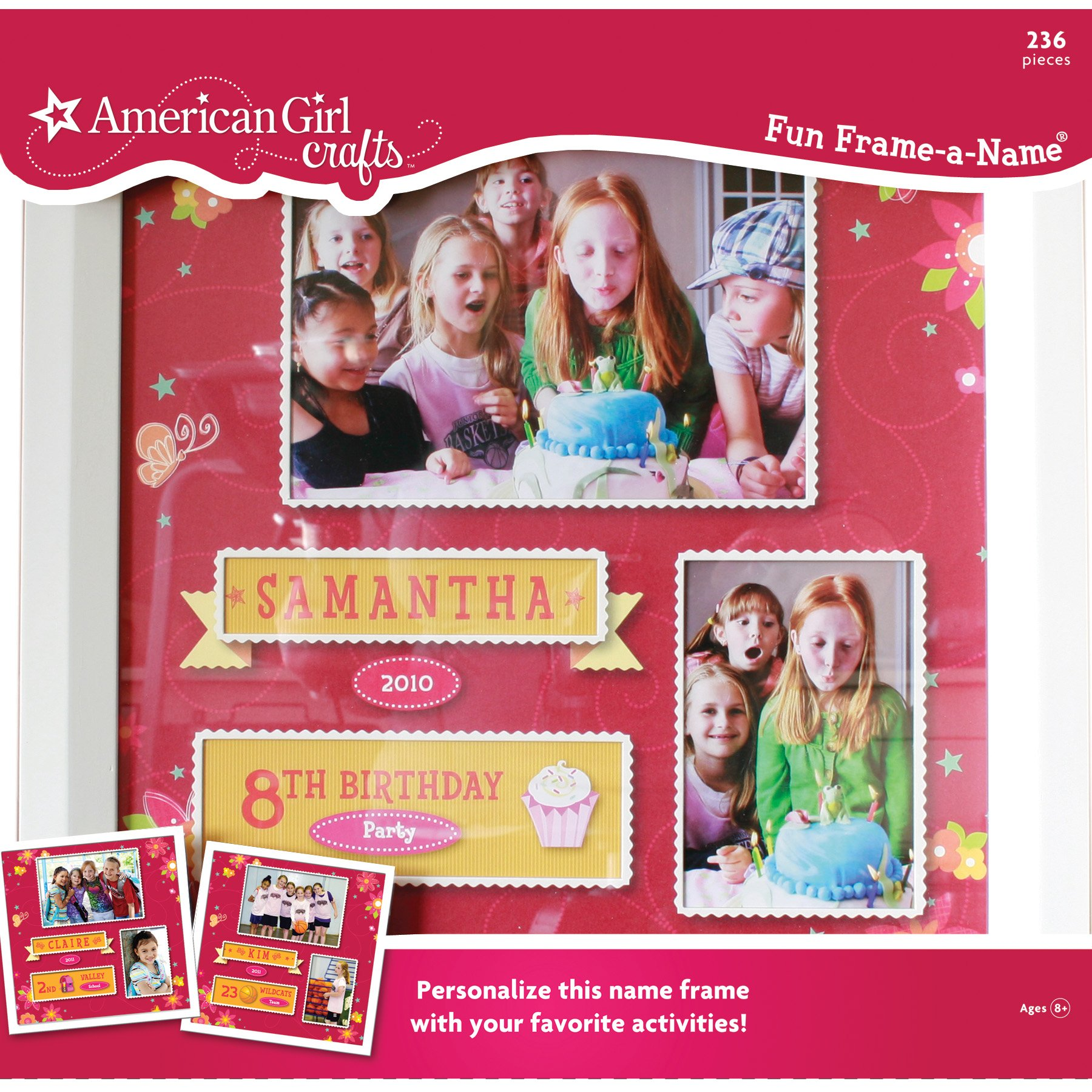 American Girl Crafts Fun Frame-A-Name
