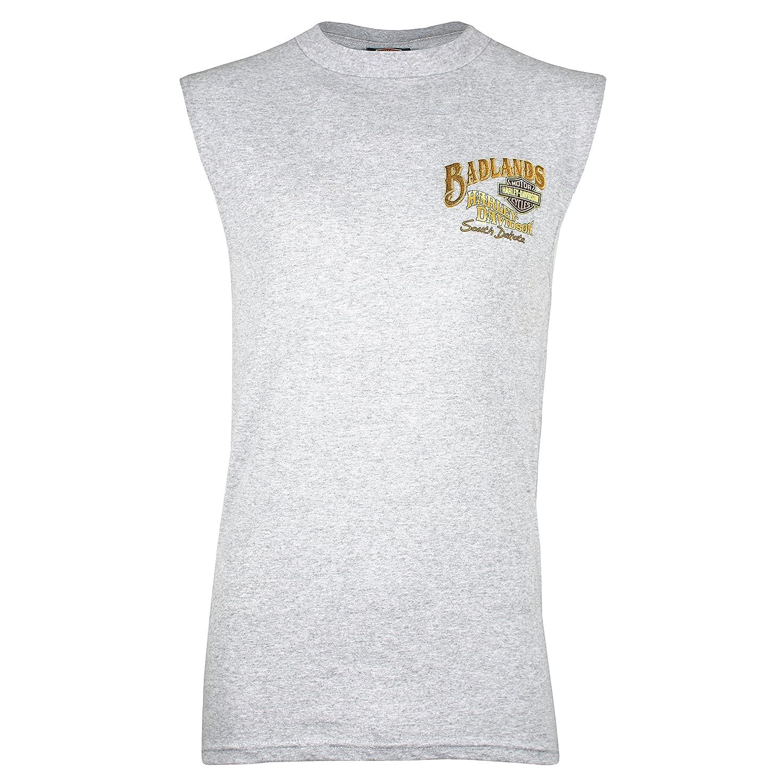Harley-Davidson Badlands Cowgirl Pinup Sleeveless T-Shirt