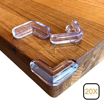 4 Stück Eckenschutz Kantenschutz Tisch Kinderschutz für Baby Kindersicherung NEU