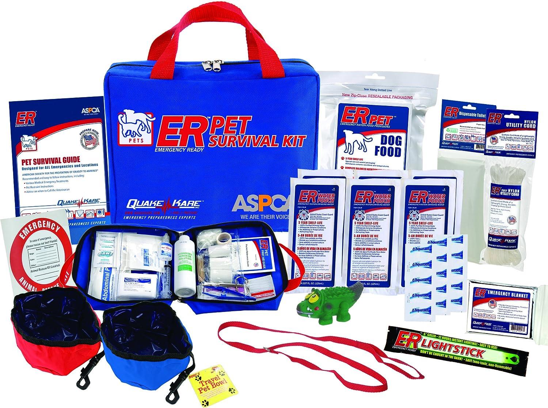 ER Emergency Ready Deluxe Survival Kit, 2 Dogs Kit