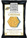 Food Should Taste Good Chips, Cheddar, 5.5 Ounce
