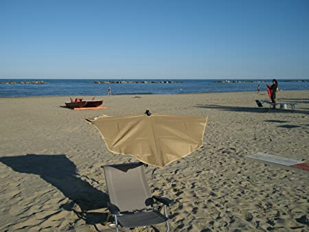 ... Beach - Playa - Juego de compartimentos pantalla Holly - dralón funda - rosa - 230 g/m² - Alta Protección UV - Producción Alicates montaña Alemania ...