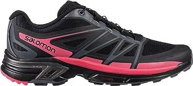 Salomon Women's Wings Pro 2 Trail Running Shoes, (BlackDark