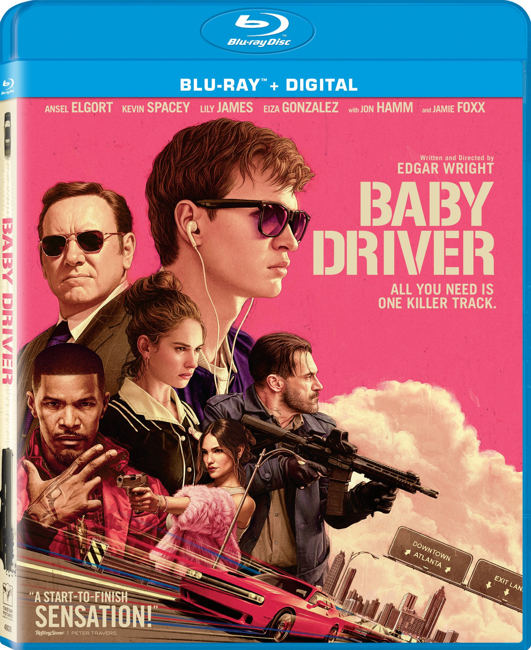 Blu-ray : Baby Driver (Ultraviolet Digital Copy, Widescreen, Dolby, AC-3, Dubbed)
