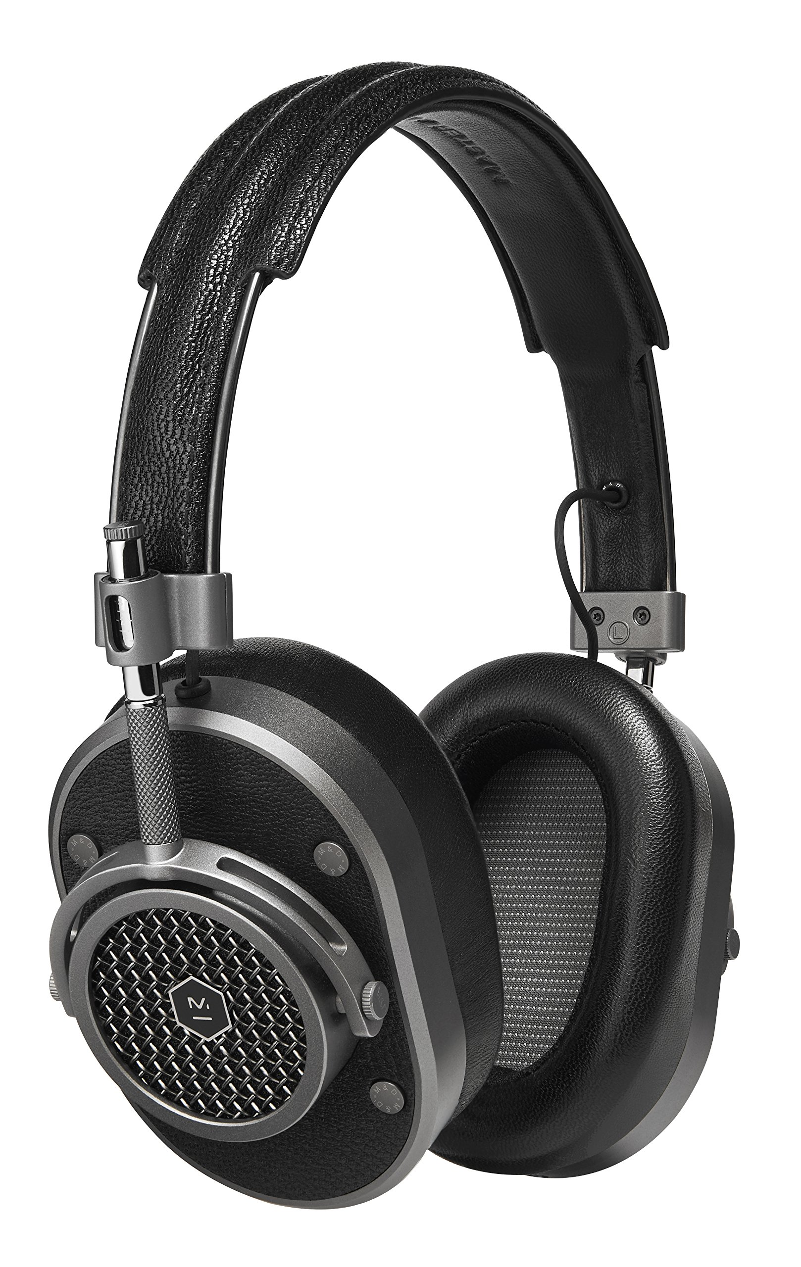 Master & Dynamic MH40 Over-Ear Headphones with Wire - Noise Isolating with Mic Recording Studio Headphones with Superior Sound by Master & Dynamic
