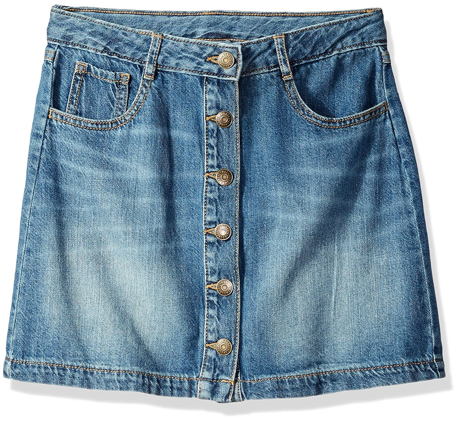 Gymboree Girls' Big Button Front 5-Pocket Skirt