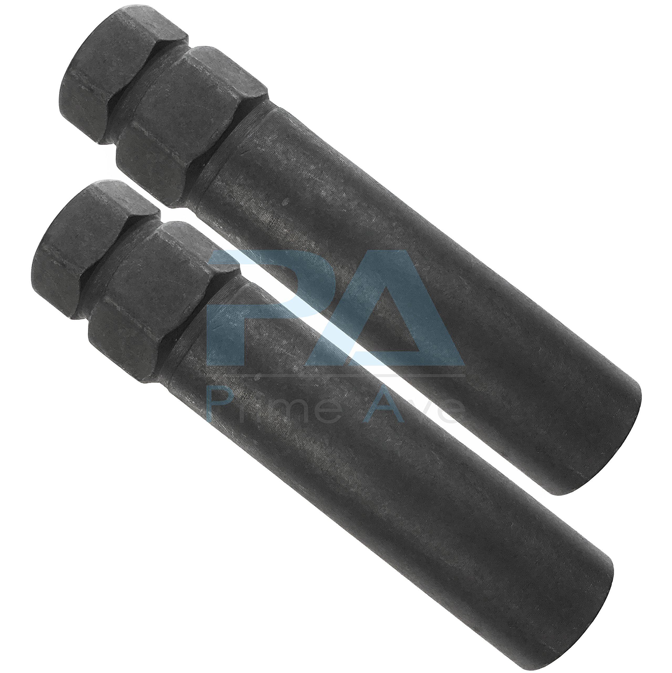 (2) Black 6 Point Standard Tuner Spline Drive Key Tools