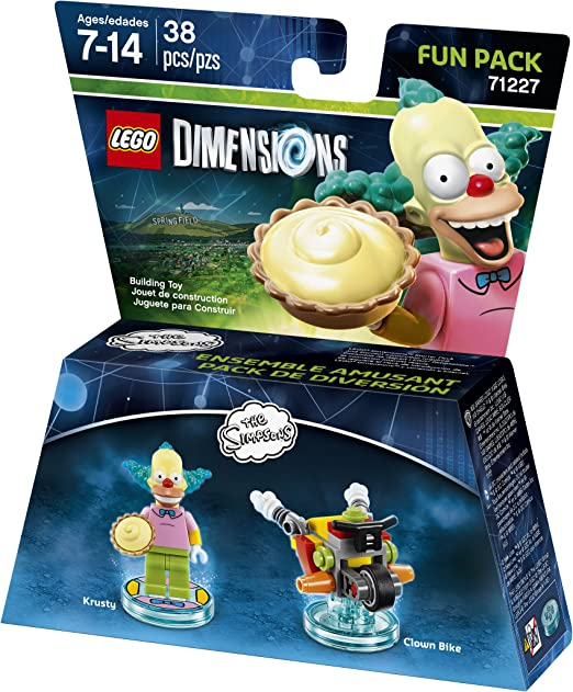 LEGO Dimensions, Simpsons Krusty Fun Pack by Warner Home Video ...