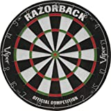 Viper Razorback Sisal/Bristle Steel Tip Dartboard with Staple-Free Spider