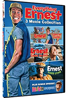 everything ernest ernest goes to camp ernest goes to jail and ernest scared stupid - Ernest Saves Christmas