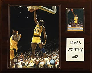 product image for NBA James Worthy Los Angeles Lakers Player Plaque