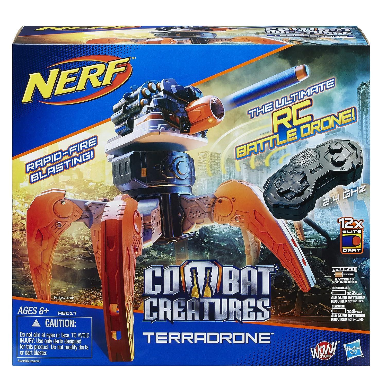 Nerf Combat Creatures TerraDrone: Amazon.es: Juguetes y juegos