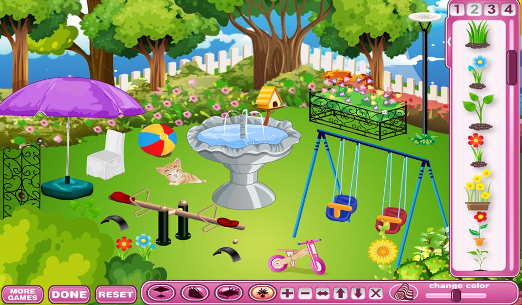 Casa de muñecas - Juegos de diseño y decoración de