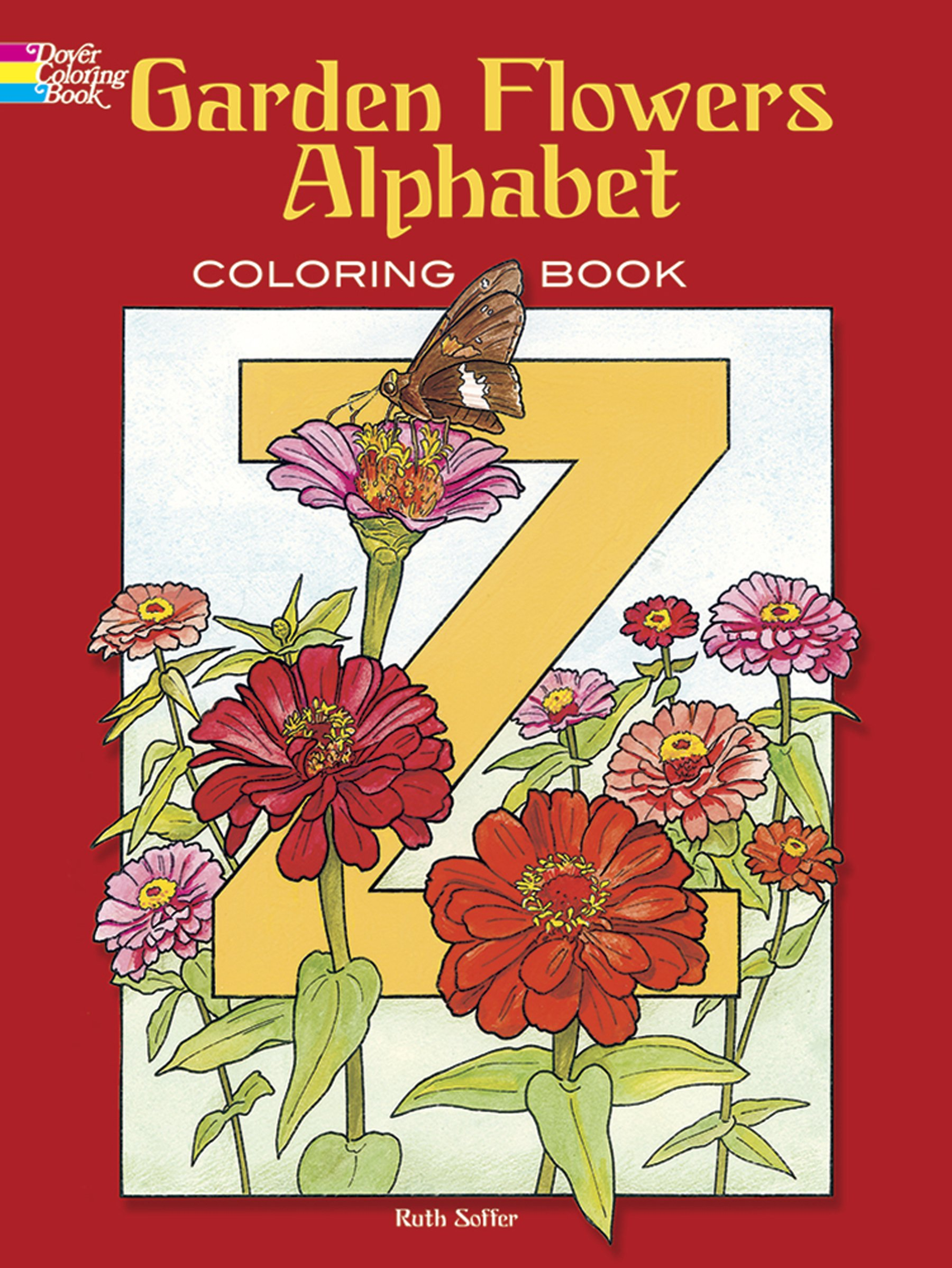 Garden Flowers Alphabet Coloring Book (Dover Design Coloring Books ...