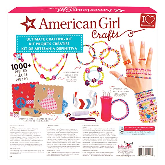 Amazon Com Fashion Angels American Girl 24109 Ultimate Crafting Kit