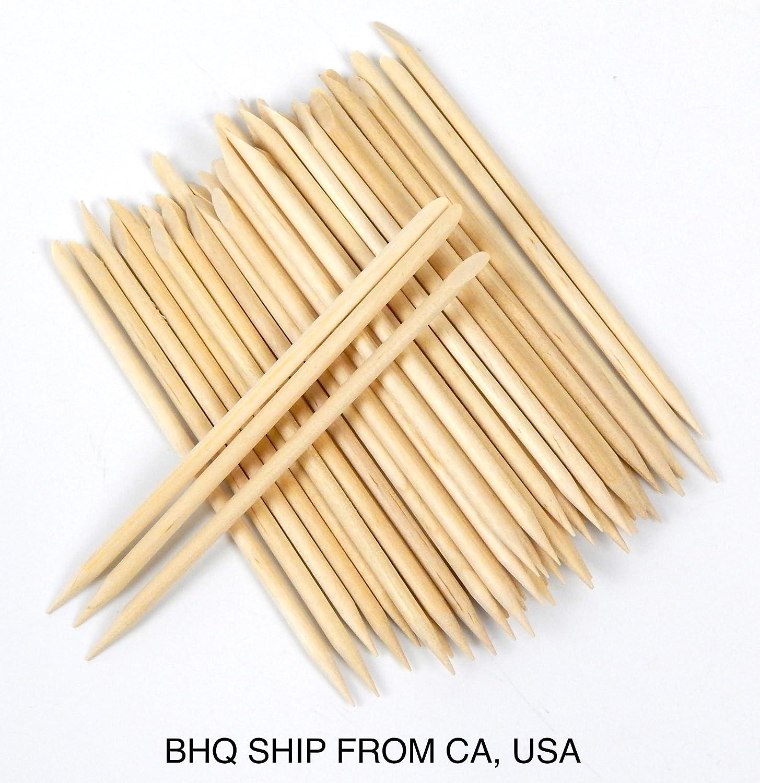 50pcs Facial Eyebrow Wooden Wood Waxing Hair Removal Sticks Applicator